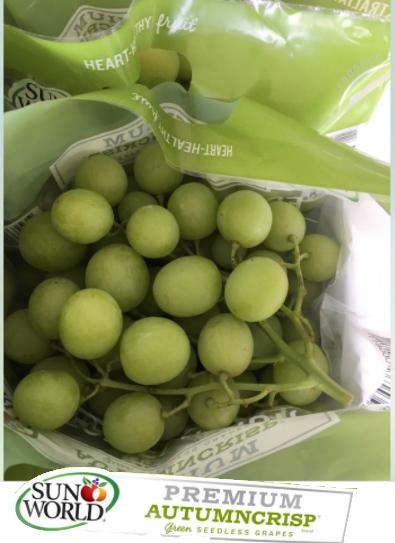 Sun World's Autumn Crisp® Grapes
