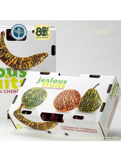 2 Boxes-Canadian Jealous Fruits Cherry 10 Row 5KG